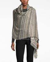 INC International Concepts Textured Yarn Bouclé Shine Wrap, Only at Macy's