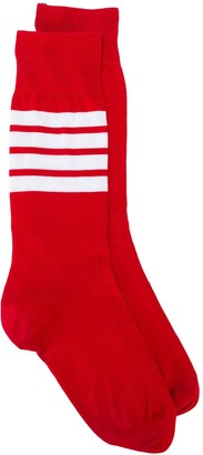 Thom Browne Lightweight Stripe Detail Socks