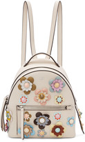 Fendi Off-White Mini Flowerland Backpack