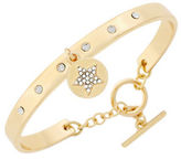BCBGeneration Say My Name Glass Stone Star Toggle Bracelet