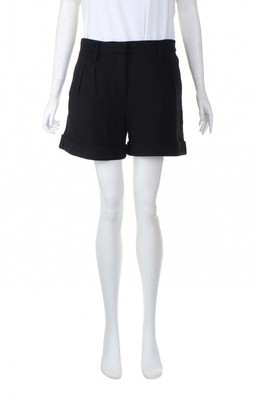 Sonia Rykiel \N Black Wool Shorts for Women