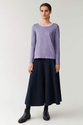 Cos LONG-SLEEVED COTTON TOP