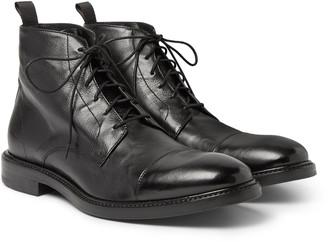 Paul Smith Jarman Cap-Toe Leather Boots