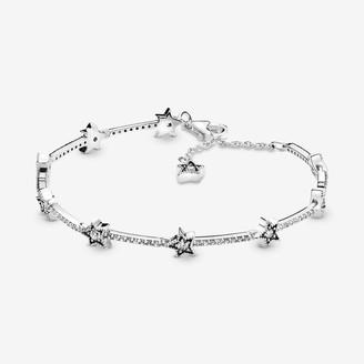 Pandora Women Silver Hand Chain Bracelet 598498C01-20
