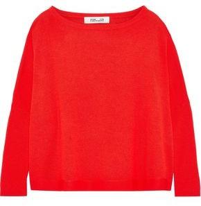 Diane von Furstenberg Oversized Wool Sweater