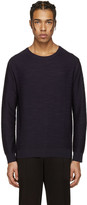 Wooyoungmi Navy Wool Pullover