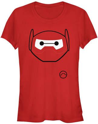 Fifth Sun Disney Pixar Women Big Hero 6 Baymax Halloween Short Sleeve Tee Shirt