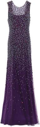 Jenny Packham Assana Open-back Beaded Tulle Gown