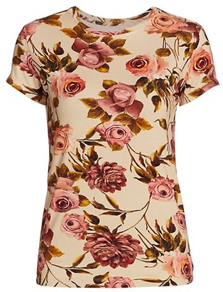 L'Agence Ressi Floral T-Shirt