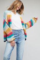 Anthropologie Brigita Mohair Cardigan, Multicolored