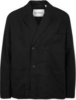 Our Legacy Black Linen Blend Blazer