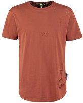 Criminal Damage Shoreditch Print Tshirt Rust