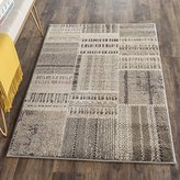 "Safavieh Deltana"" Woven Rug, Grey/Multi-Colour, 91 x 152 x 1.14 cm"