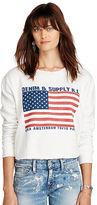 Denim & Supply Ralph Lauren Cropped Fleece Sweatshirt