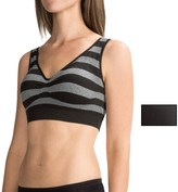 Delta Burke Mini-Stripe Seamless Comfort Bra - 2-Pack (For Women)