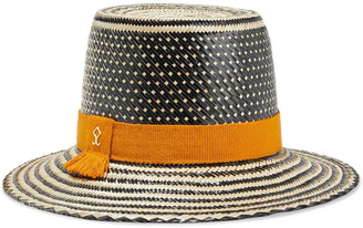 Yosuzi Nancy Woven Straw Hat
