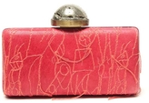 Kelly Wearstler Embroidered Thread Clutch