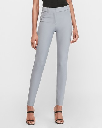 Express High Waisted Soft Twill Skinny Pant