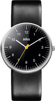 Braun Bn0021bkbkg Stainless Steel And Leather Watch