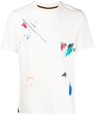 Paul Smith 'Marker Pen' print T-shirt