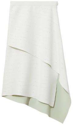 Proenza Schouler Pointelle Knit Wrap Skirt