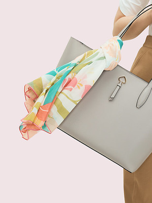 Kate Spade Tropical Floral Square Scarf