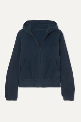 LNDR Ember Hooded Fleece Jacket - Navy