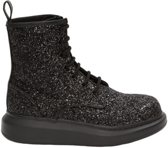 Alexander McQueen Leather Upper And Rubber Sole