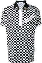 Givenchy checkered polo shirt