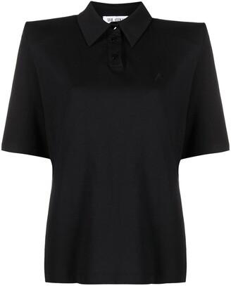 ATTICO Shoulder Pads Polo Shirt