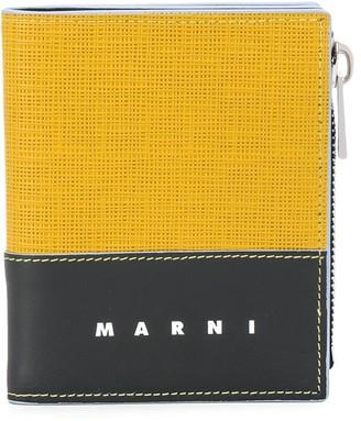 Marni Side Zip Foldover Wallet