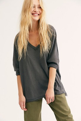We The Free On My Mind V-Neck Top