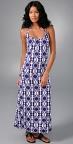 Lesa Spanish Tile Maxi Dress