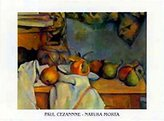 Cezanne 1art1 Posters: Paul Poster Art Print - Natura Morta (12 x 9 inches)