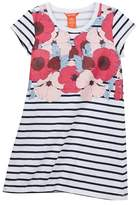 Joe Fresh Striped T-Shirt Dress (Big Girls)