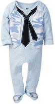 Vitamins Baby Vest & Tie Footie (Baby Boys)