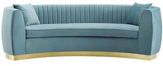Dement Standard Sofa Mercer41 Upholstery Color: Light Blue