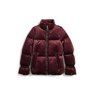 Tommy Hilfiger Women's Adaptive Puffer Jacket with Magnetic Zipper