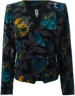 Emanuel Ungaro Pre Owned Floral Jacket