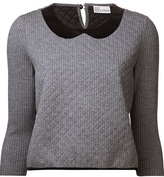 Red Valentino peter pan collar sweater