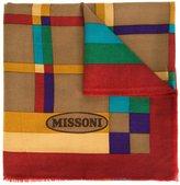 Missoni colour block shawl