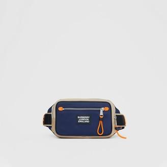 Burberry Logo Applique Two-tone ECONYL Bum Bag