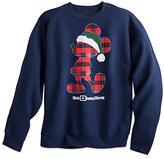 Disney Santa Mickey Mouse Holiday Sweatshirt for Adults - Walt World