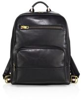 Bally Thunder Calf Leather Backpack