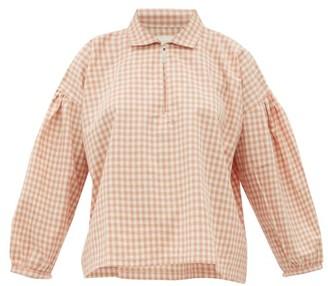 Story mfg. Amber Gingham Organic-cotton Shirt - Pink Multi