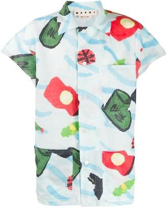 Marni Painted Print Shirt