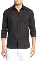 Vilebrequin Men's Caroubie Regular Fit Linen Sport Shirt