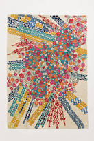 Anthropologie Confetti Flora Rug