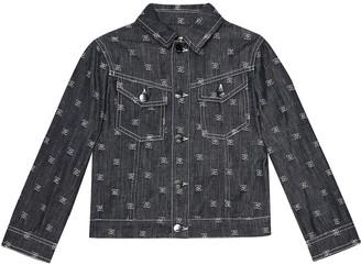 Fendi Embroidered denim jacket