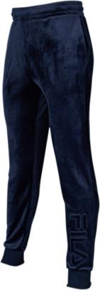 Fila Vinny Velour Jogger Pants - Navy Blue